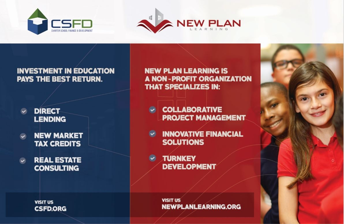 An advertisement for the New Plan Learning describing their services.