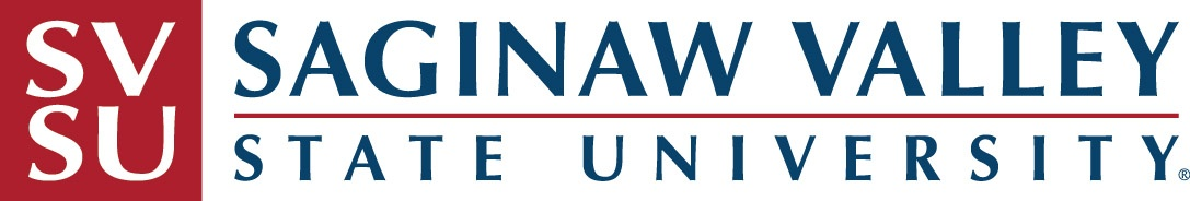An image of the Saginaw Valley State University logo