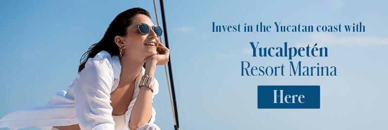 Invest in the Yucatan coast with Yucalpeten Resort Marina