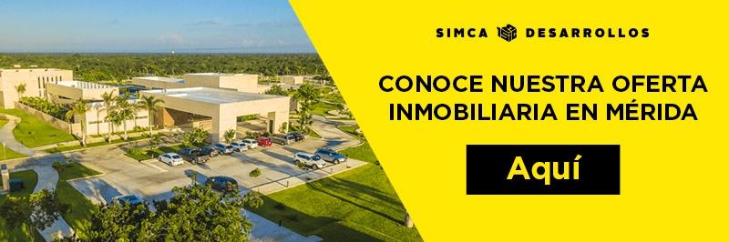Conoce nuestra oferta inmobiliaria en Mérida aquí