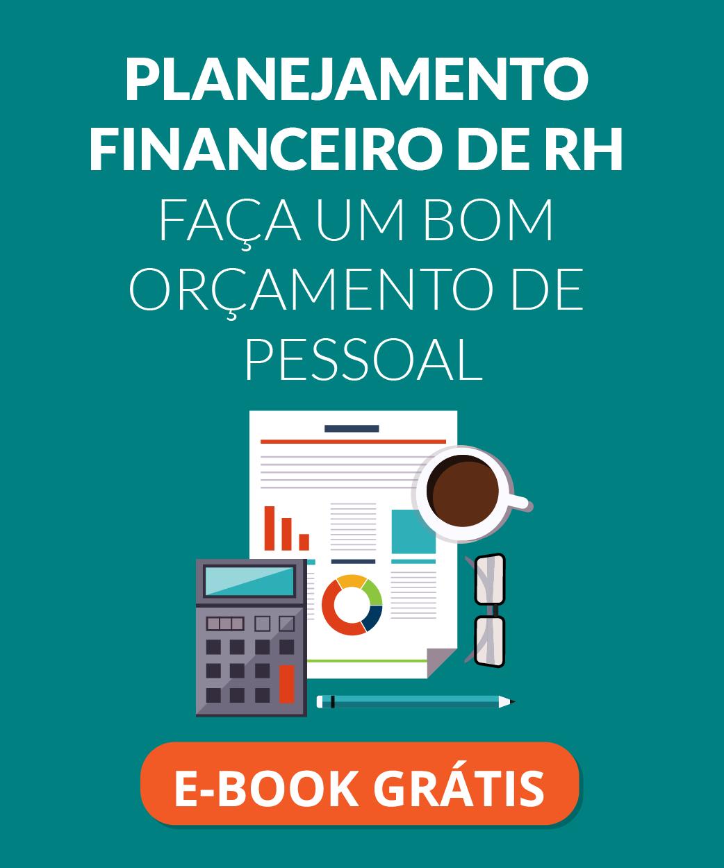 planejamento financeiro de RH