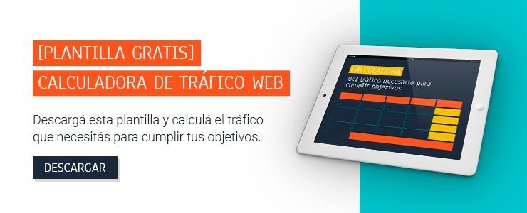 Calculadora de trafico web