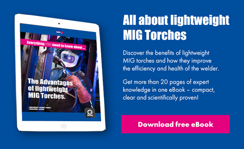 The advantages of lightweight MIG torches - Download free eBook