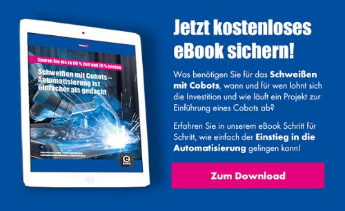 Schweißen mit Cobots - Jetzt kostenloses eBook herunterladen!
