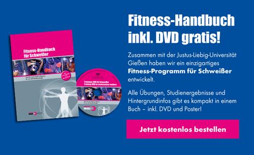 Fitness-Handbuch inkl. DVD kostenlos bestellen