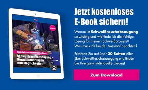 Jetzt kostenloses eBook zum Thema Schweißrauchabsaugung herunterladen