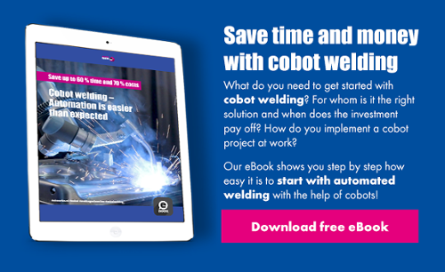Cobot welding - Download free eBook now!