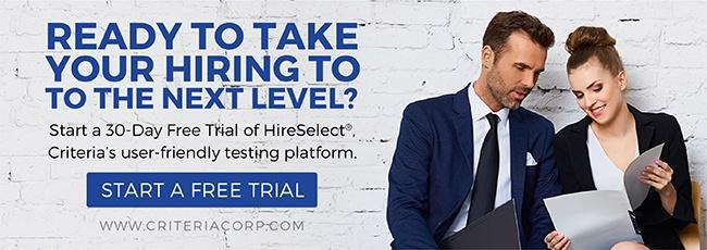 Pre-employment Testing Free Trial