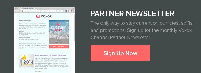 Partner Newsletter Sign Up