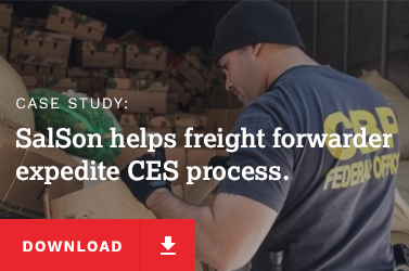 SalSon helps freight forwarder expedite CES process