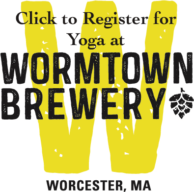 yoga at wormtown