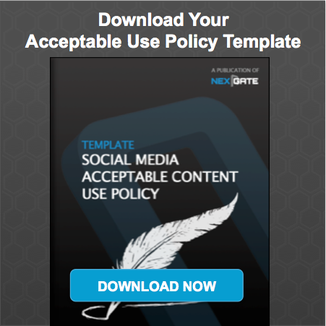 social media spam abusive and offensive content moderation nexgate