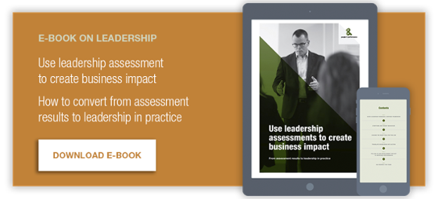 Use leadership assessment to create impact