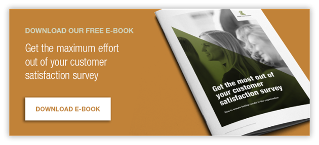 Download our free e-book - Get the maximum effort out of your customer satisfaction survey