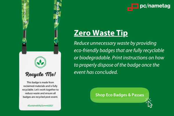 shop pc/nametag's eco event badges and passes
