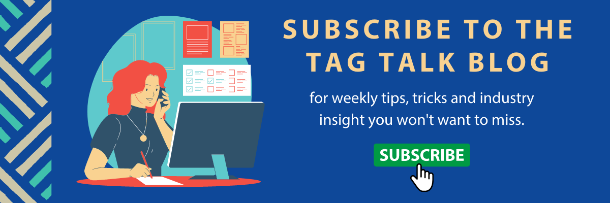 Subscribe to the Tag Talk blog