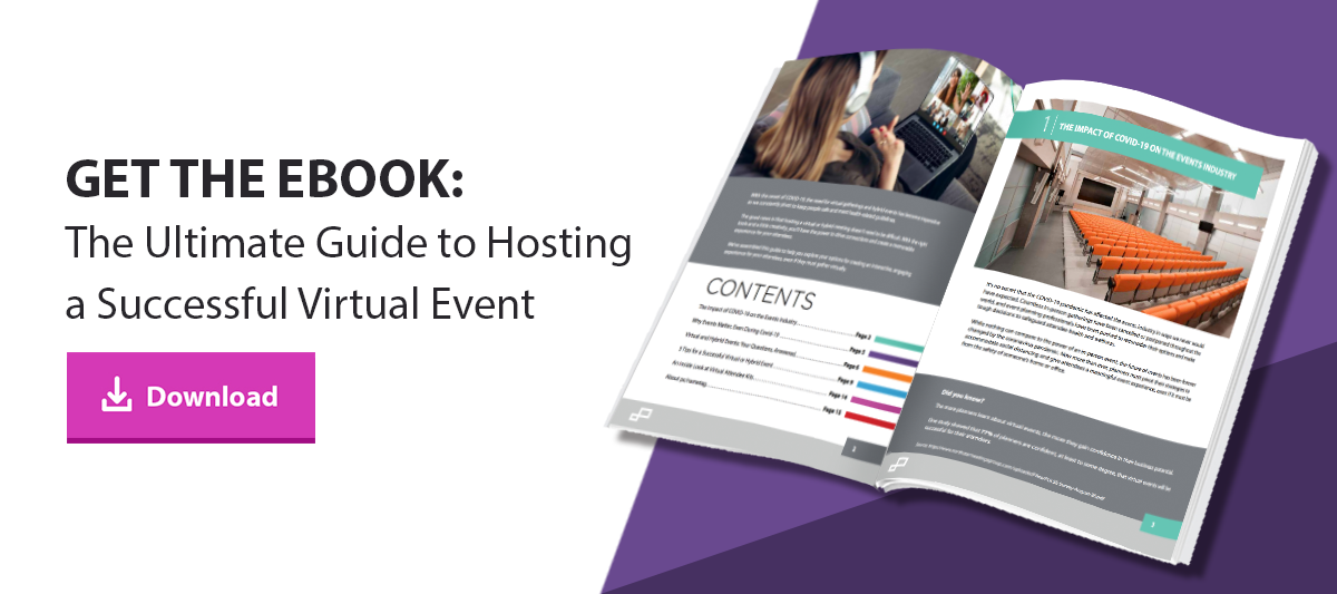 Click to download the Ultimate Guide to Hosting a Successful Virtual Event