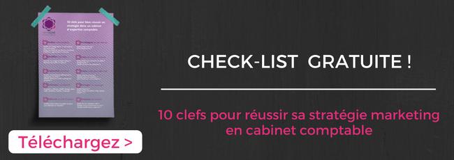 Téléchargez la check-list gratuite : les 10 clefs pour réussir sa stratégie marketing en cabinet comptable