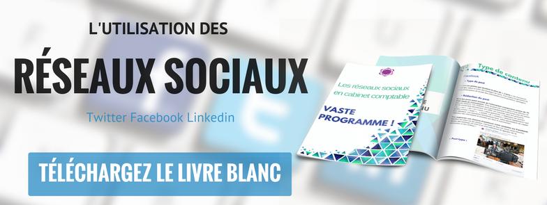 Télécharger le livre blanc sur l'utilisation des réseaux sociaux en cabinet d'expertise comptable