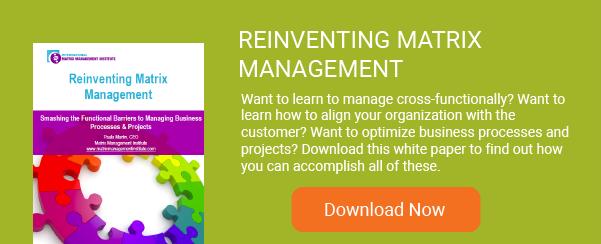 Matrix Management Reinvented
