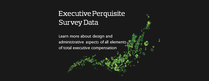 Executive Perks Survey Data in Compensation Policies and Programs