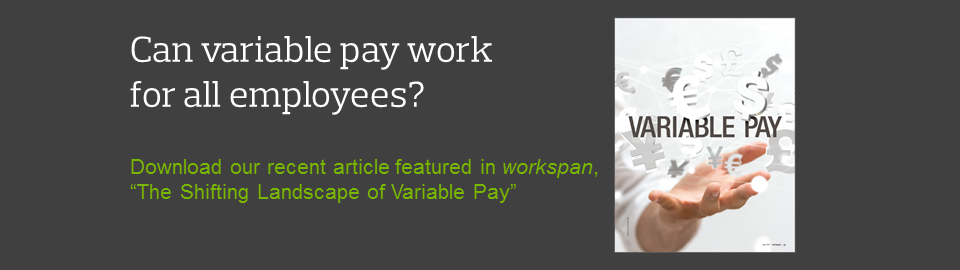 The Shifting Landscape of Variable Pay