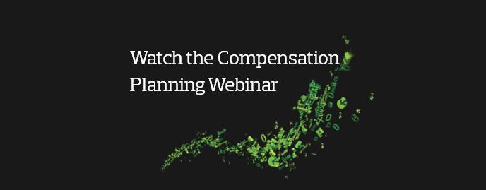 Compensation Planning Webinar