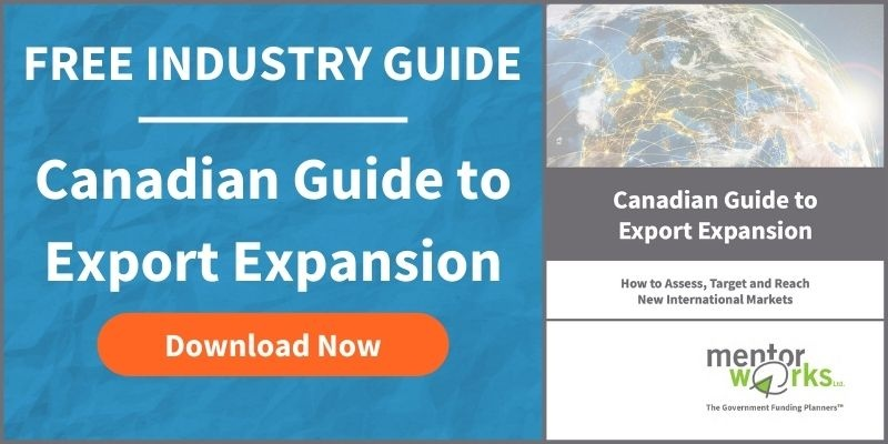 Canadian Government Grants for Exporting
