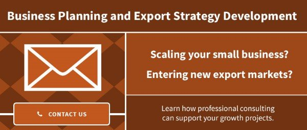 Business Planning and Export Strategy Development Services
