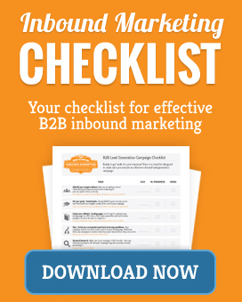 B2B Inbound Marketing Checklist
