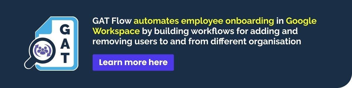 Blog- Simplify Employee Onboarding in Google Workspace