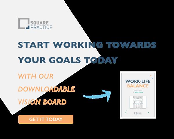 Work-Life Balance Vision Board