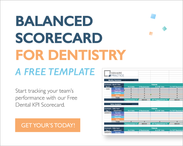 balanced scorecard for dentistry