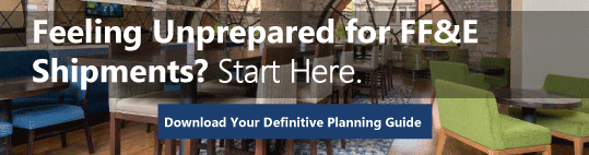 eBook Download Offer - The Definitive Guide to Planning for FF&E Shipments