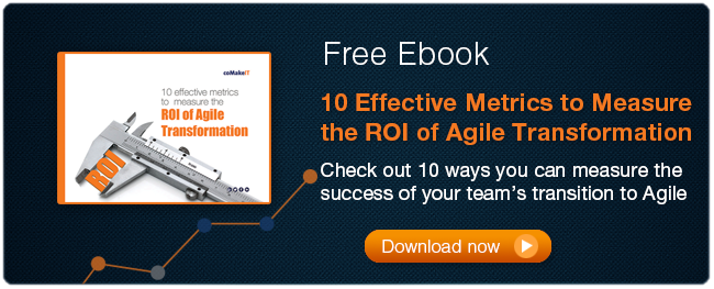effective metrics to measure agile transition ROI