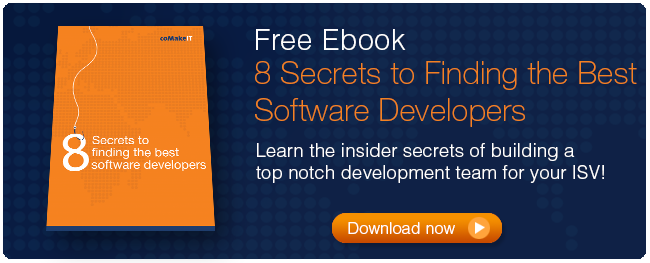 8 secrets to finding the best software developers ebook