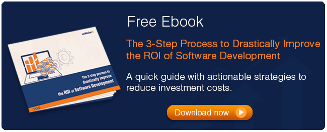 the 3-step process to drastically improve the ROI of software development