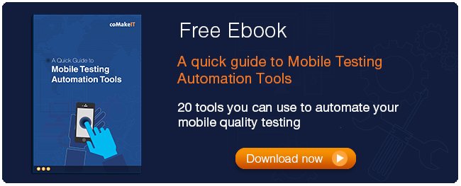 mobile automated testing tools guide
