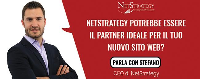 Netstrategy potrebbe essere il partner ideale per il tuo nuovo sito web?