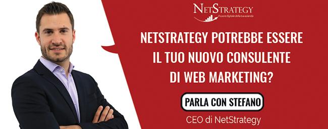 NetStrategy potrebbe essere il tuo nuovo consulente di web marketing?