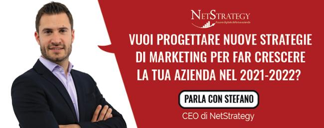 Vuoi progettare nuove strategie di marketing per far crescere la tua azienda nel 2021-2022??