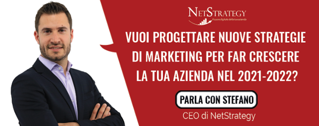Vuoi progettare nuove strategie di marketing per far crescere la tua azienda nel 2021-2022?
