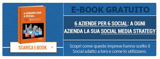 6 aziende per 6 social - scarica l'ebook