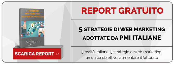 5 strategie di Web Marketing - scarica il report