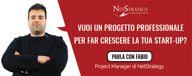 Vuoi un progetto professionale per far crescere la tua start-up?