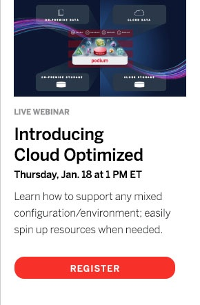 Podium Data Cloud Optimized Webinar