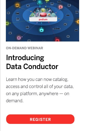 Podium Data Data Conductor Webinar