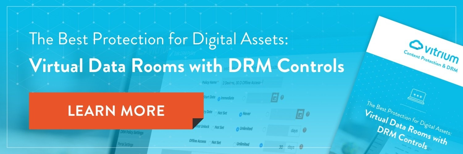 Download eBook:The Best Protection for Digital Assets: Virtual Data Rooms with DRM Controls