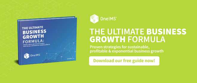 The Ultimate Business Growth Formula | OneIMS