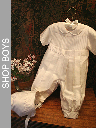 Tucks Boys Romper